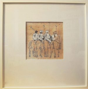 1, 2, 3, 4 POLO, limited edition, 50 x 50 cm