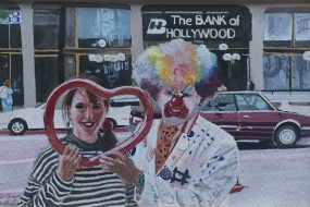 The Bank of Hollywood, 1993 / Aquarell / 18 x 13 cm